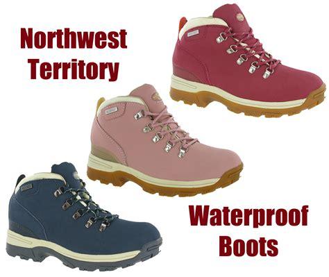 womens leather waterproof northwest trek hiking walking