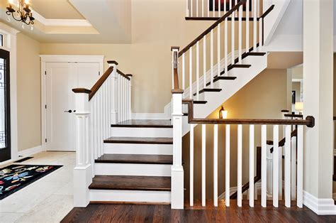 Handrail Ideas For Stairs stair and railing ideas doyle homes