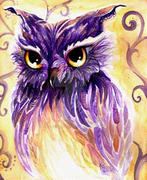 Owl Purple by Purple Owl By Flyawayfairy On Deviantart