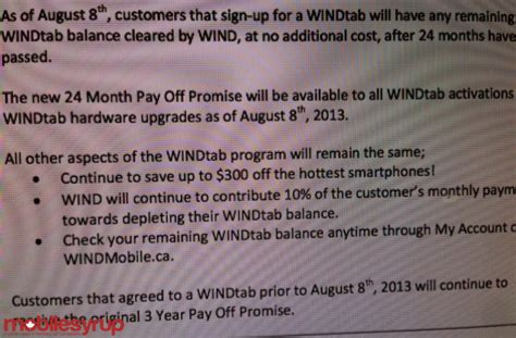 wind mobile pay wind mobile new 33 bts plan new windtab 24 month pay
