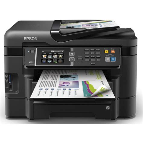 Printer Epson All In One epson workforce wf 3640dtwf wireless all in one printer