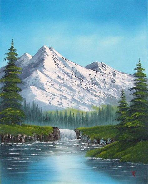 Painting For Beginners Bob Ross Technique