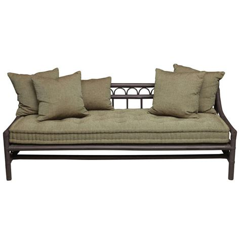 rattan daybed willow and reed rattan daybed at 1stdibs