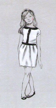children fashion figure croqui 006 fashion illustrations