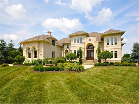 home design products indiana estate of the day 1 8 million golf course estate in