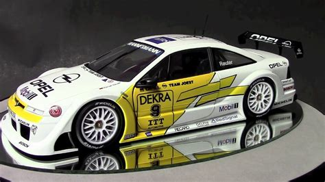 opel calibra race car 1 18 opel calibra dtm racecar by ut models review