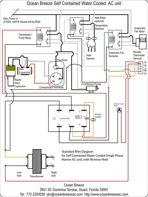 ac thermostat wiring diagram efcaviation