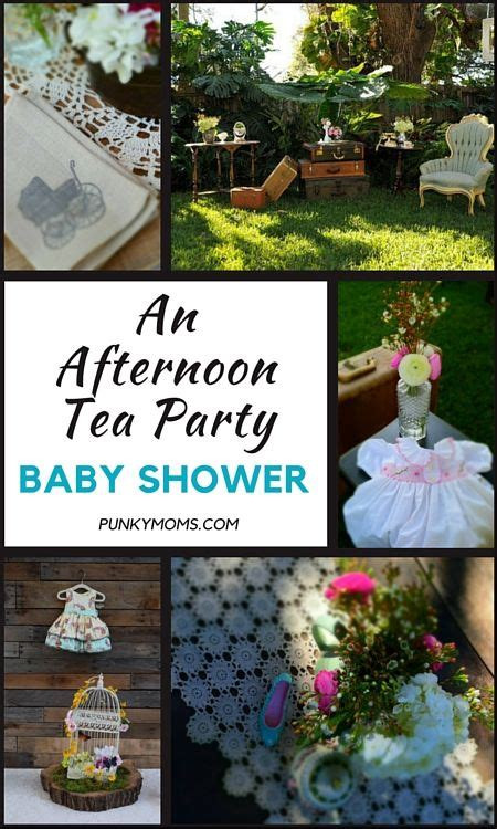 Tea Party Baby Shower Afternoon Garden Party Ideas Garden Tea Baby Shower Ideas