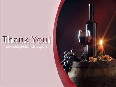 Wine Bottle Powerpoint Template Backgrounds 05719 Poweredtemplate Com Wine Powerpoint Template