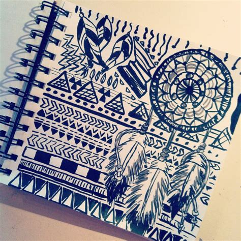 aztec pattern drawings tumblr aztec drawing things i want to draw pinterest