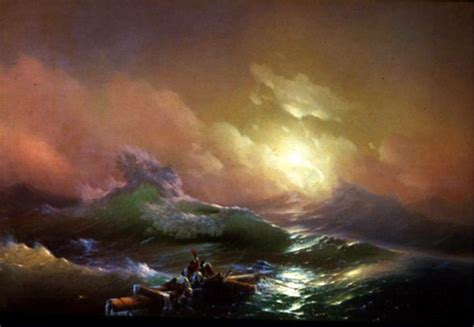 pics for gt ivan aivazovsky the ninth wave artex amazing art the o jays and waves