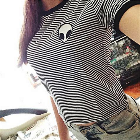 Kaos T Shirt Wanita Gray Casual M Import Original kaos katun wanita 3d print o neck size m gray jakartanotebook