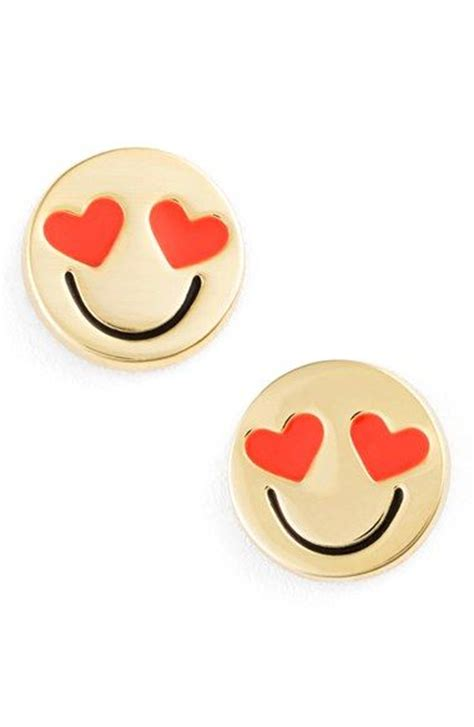 spade emoji women s kate spade new york tell all emoji stud earrings