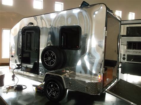 Plans For A Tiny House ultra teardrop toy hauler trailers floor plan access rv