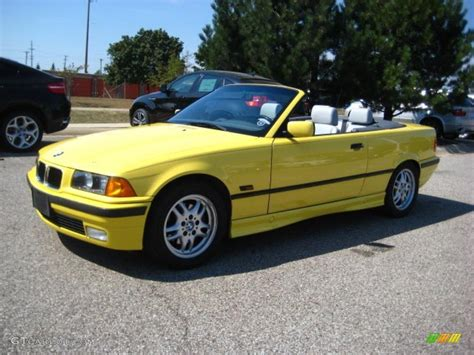 1995 bmw 325i convertible 1995 dakar yellow bmw 3 series 325i convertible 35669935