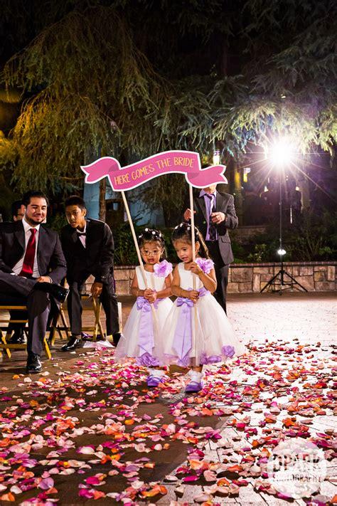 Wedding Ceremony Animation by Of Animation Brisa Courtyard Wedding