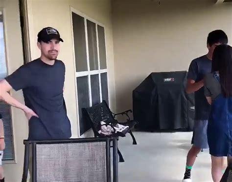 Fake marriage proposal basketball game