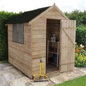 forest overlap apex shed pt with onduline roof 8x6