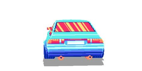 pixel car transparent transparent gif