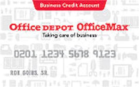 Office Depot Business Credit Card