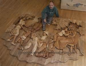 Furniture Kitchener relief carving woodcarving and sculpting by fred zavadil