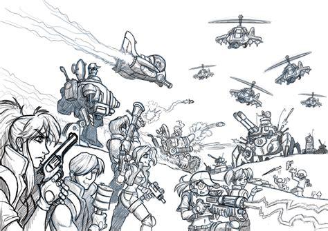 doodle metal metal slug attack doodle by alexsanlyra on deviantart