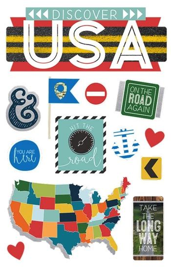 Usa Scrapbook Stickers usa scrapbooking paper america scrapbook album