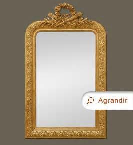 miroir bois dor 233 miroirs anciens