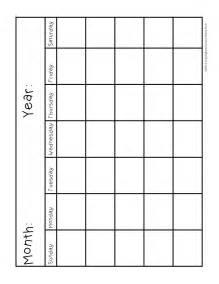 full page blank calendar calendar template 2016