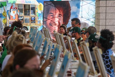 bob ross painting classes new smyrna tortugas make a of it celebrating artist bob ross