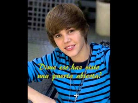 One Less Lonely Says Biebers Baby by One Less Lonely Justin Bieber Traducido Al