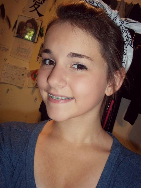 young teen girl face with braces girls with braces cute teen braces we heart it braces