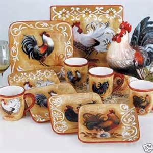 1000 images about rooster dinnerware on pinterest lille dinner plate sets and fine china