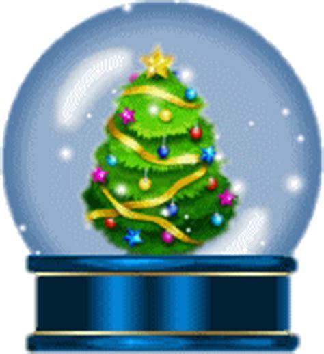 animated christmas snow globe clip art