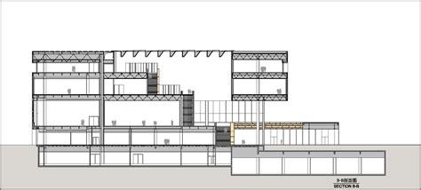 museum section tianjin art museum in china by ksp j 252 rgen engel architekten