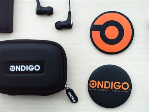 Headphone Ondigo ondigo branding by leroy hasim 187 retail design