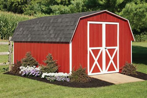 Mini Barn Shed by Backyard Amish Sheds For Sale Wood Vinyl Nj