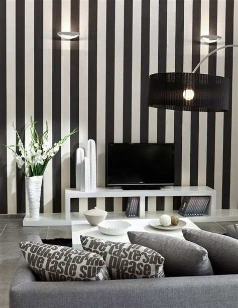 striped rooms bold and beautiful black and white stripes in every room
