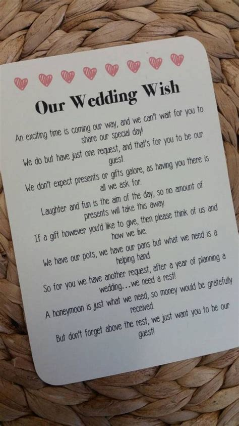 best 25 wedding gift poem ideas on honeymoon fund wedding gifts honeymoon wedding