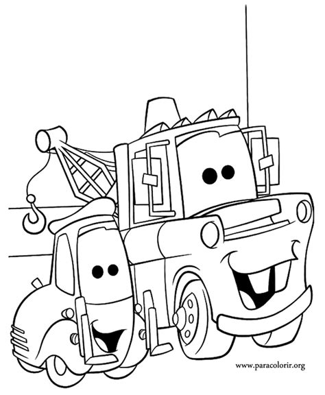 coloring pictures of mater from cars mater from cars coloring pages download and print for free