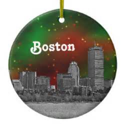 boston themed ornaments keepsake ornaments zazzle