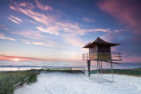 wallpaper designs gold coast australian lifeguard hut at sunrise gold coast qld