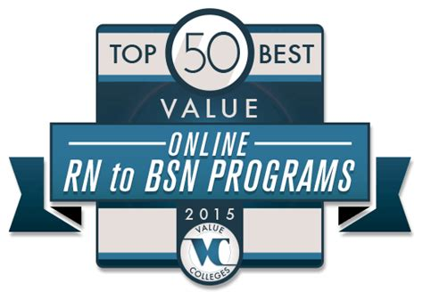 Rn To Msn Mba Programs by Top 50 Best Value Rn To Bsn Programs Value Colleges