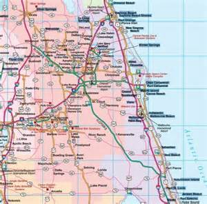 central florida map florida road map florida backroads travel has 9 of them