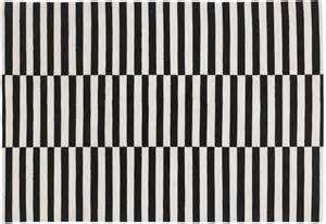 striped black and white rug 301 moved permanently
