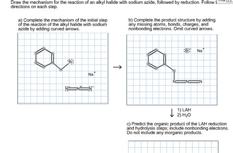 doodle how to make mechanism draw the mechanism for the reaction of an alkyl ha