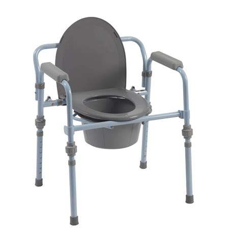 How To Use A Commode Chair by Drive Folding Bedside Commode Seat