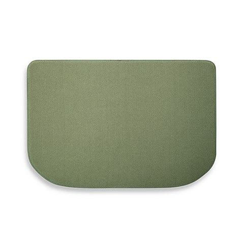 memory foam textra kitchen mats microdry 174 memory foam textra kitchen mat in fern bed bath beyond