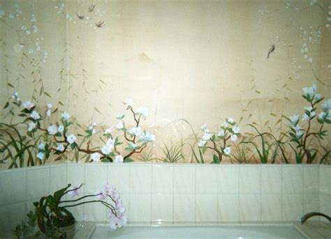bathroom mural ideas 45 best bathroom murals images on bathroom