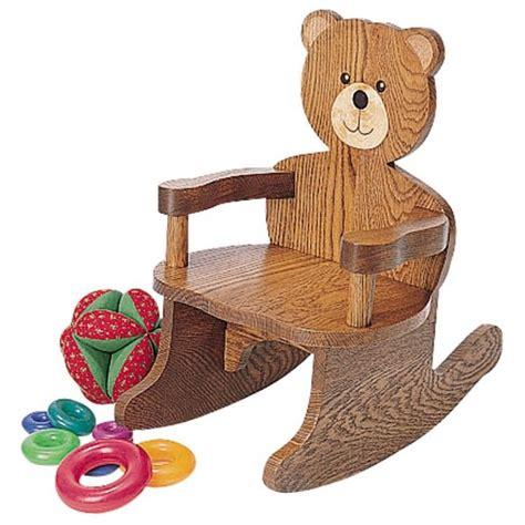 teddy bear rocking chair plan rockler  diy